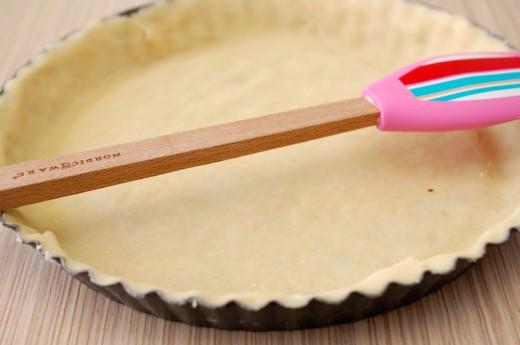 Tarta cu capsuni si crema de vanilie