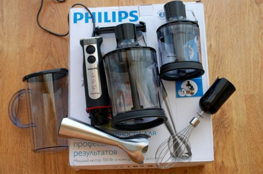 Blender de mana Philips HR1372