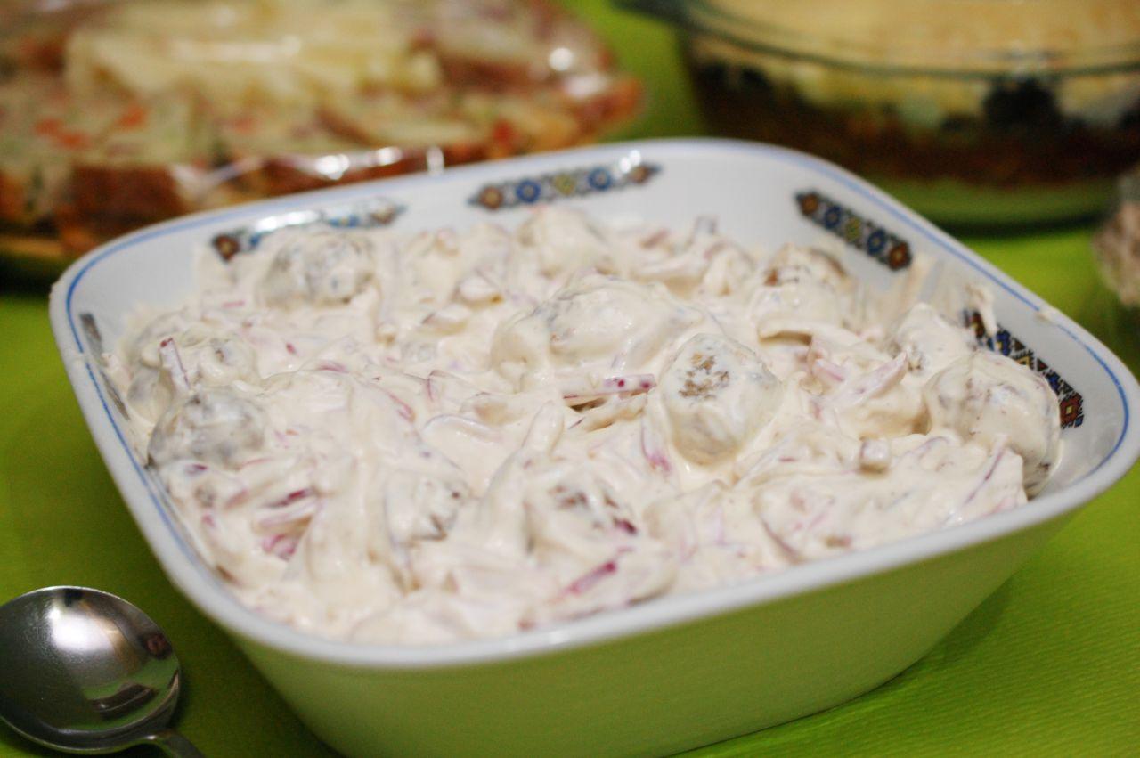 Salate usoare de anul nou