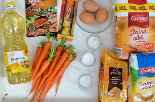 carrot cake tort de morcovi
