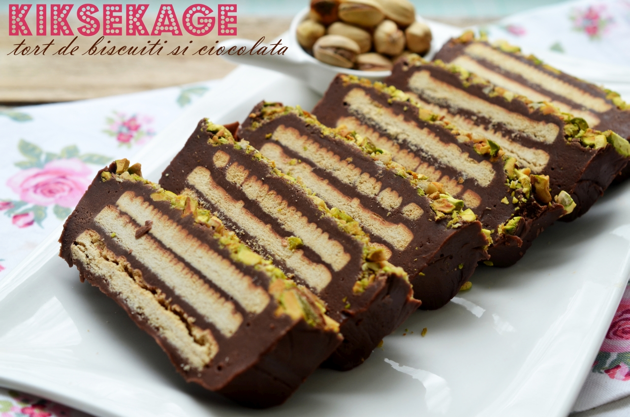 Teo's Kitchen - Kiksekage – tort de biscuiti cu ciocolata