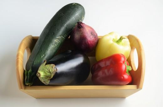 chec aperitiv cu legume