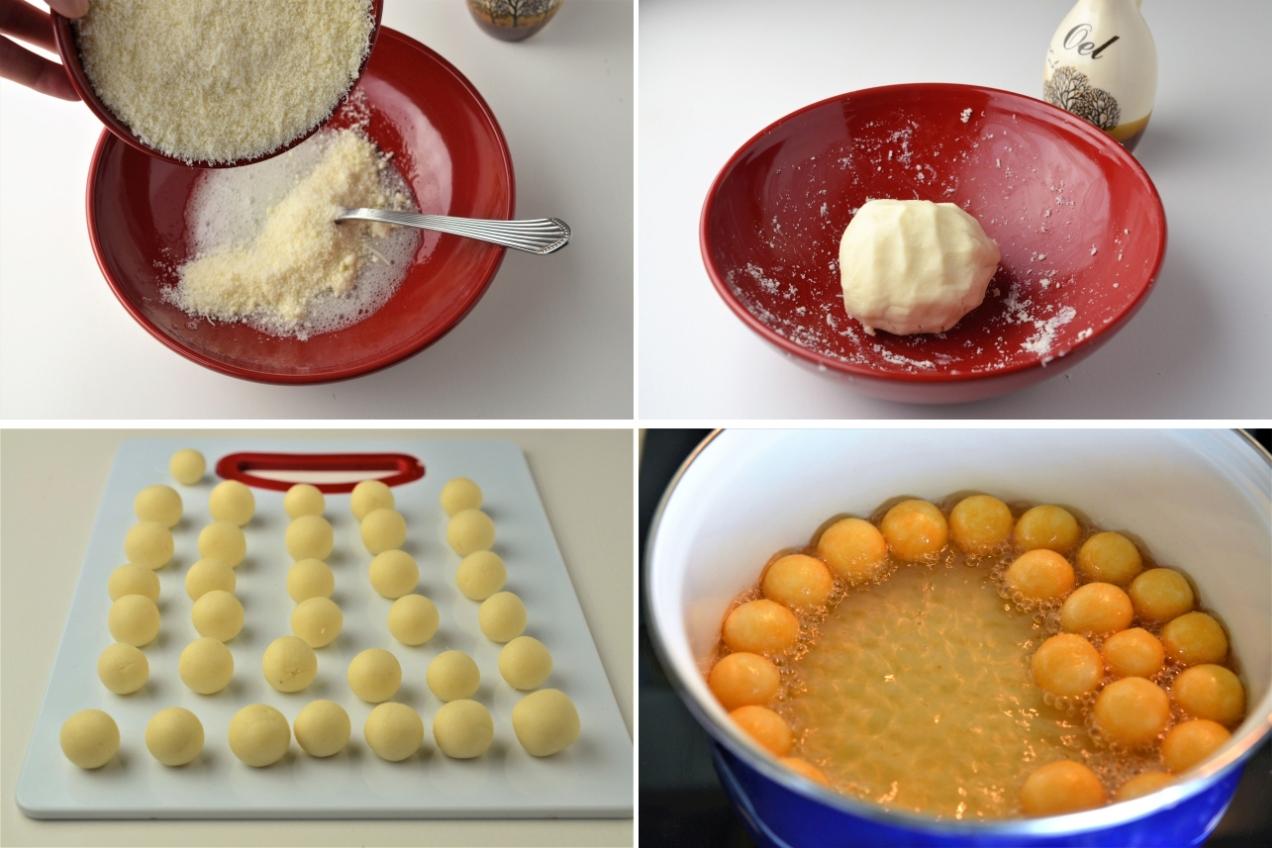 bulete de parmesan