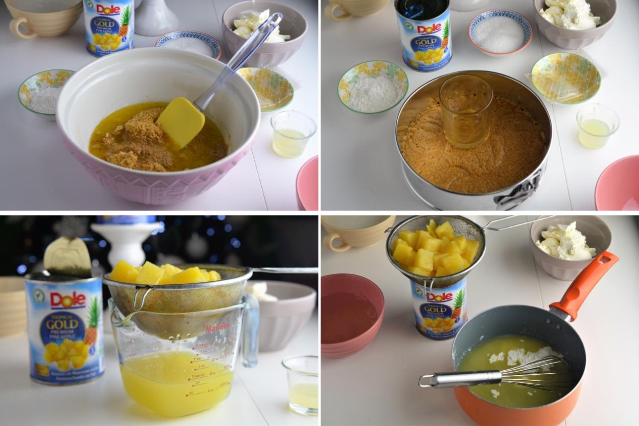 tort cu ananas