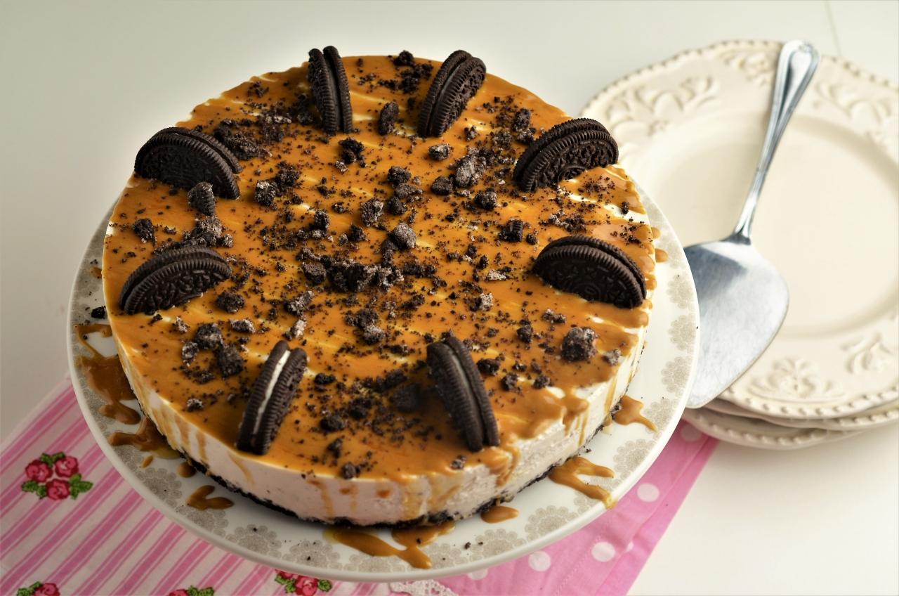 cheesecake cu oreo