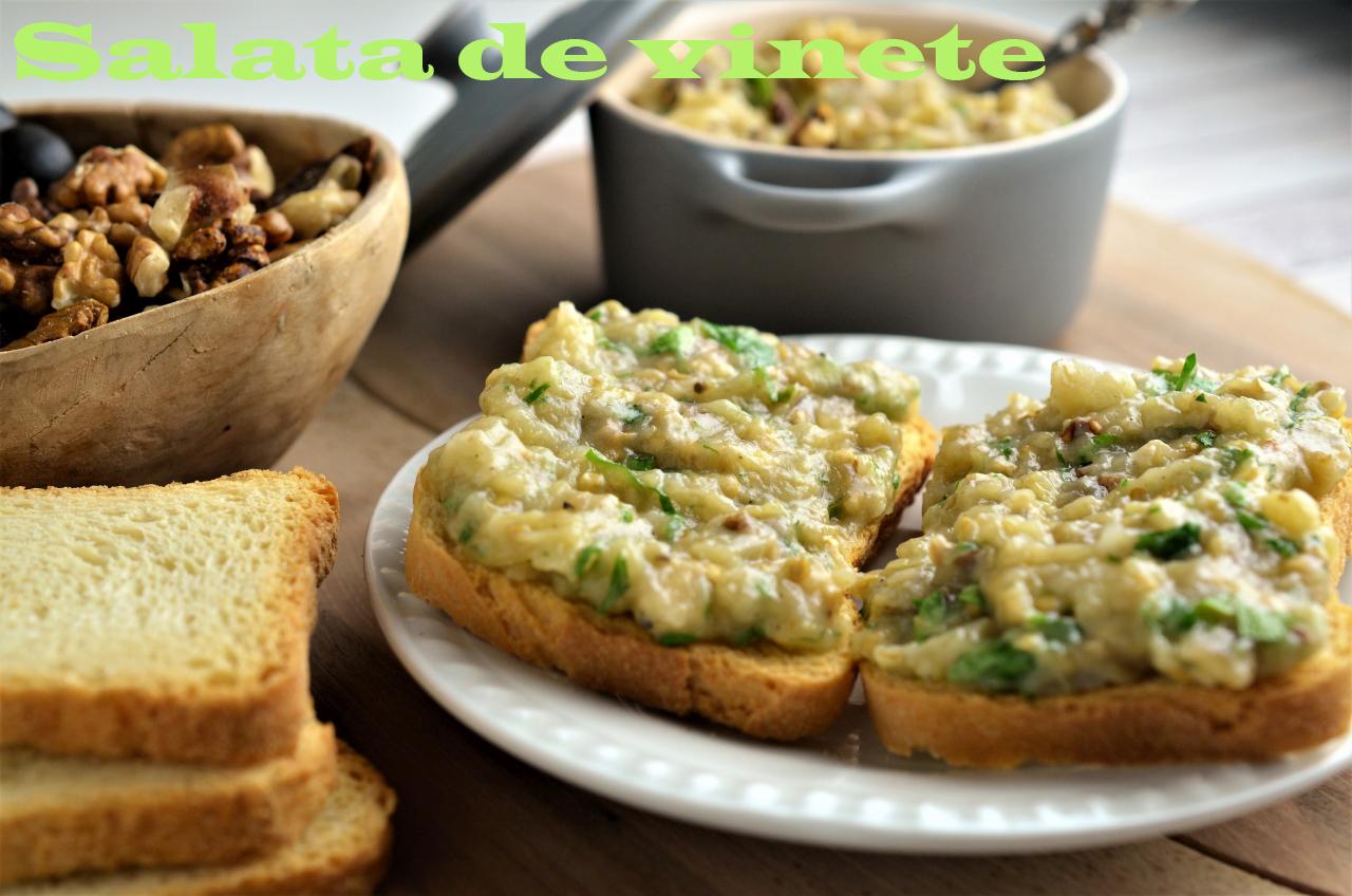 salata de vinete cu nuci