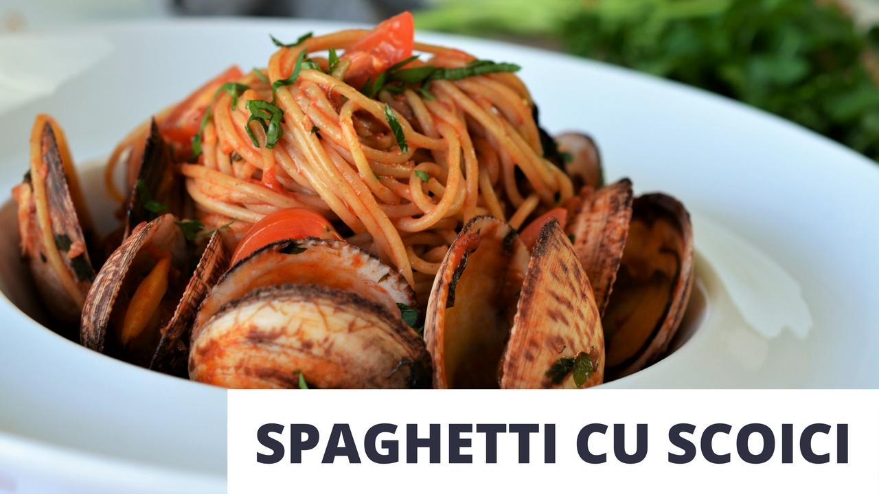 spaghetiti cu scoici