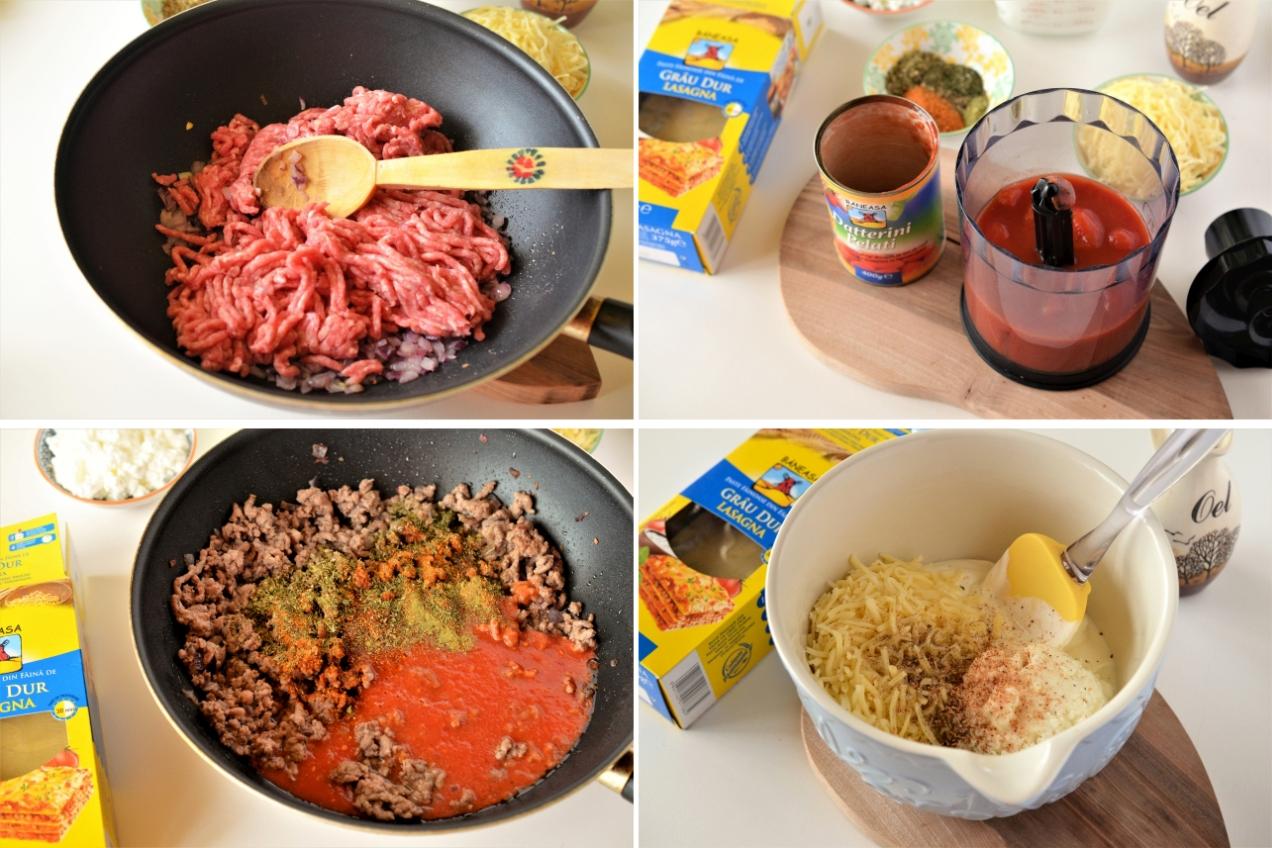 lasagna cu iaurt