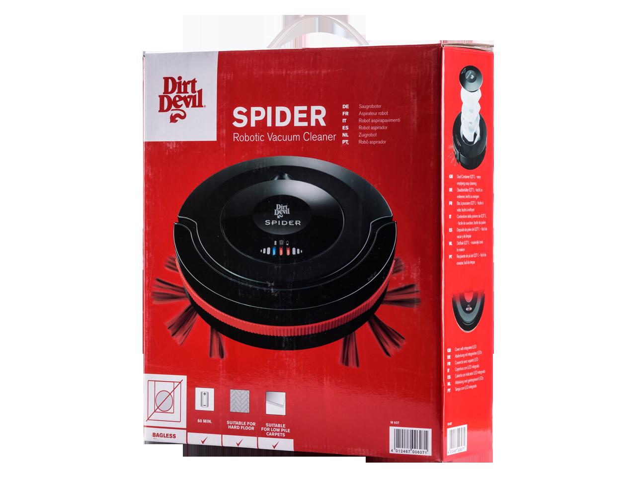 dirt devil spider