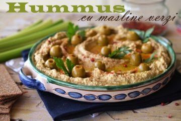 hummus cu masline