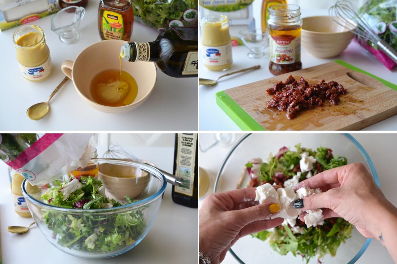 salata cu rosii uscate