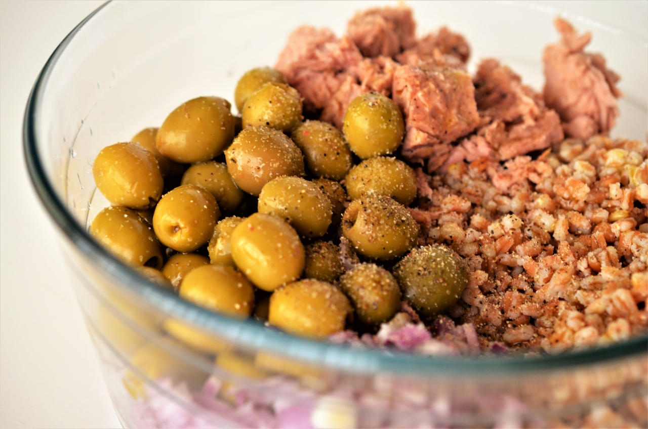 salata de arpacas cu ton