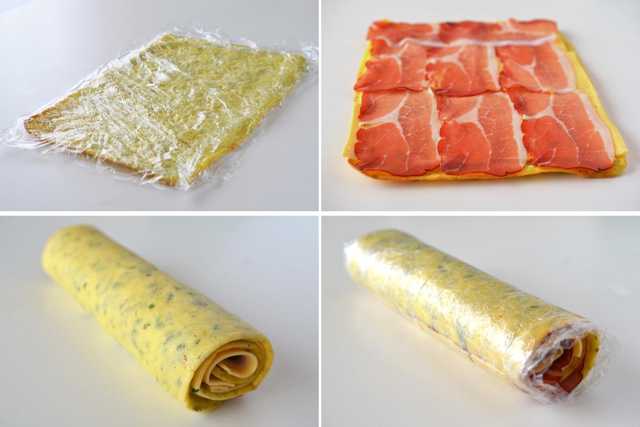 rulada de omleta