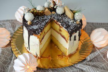 tort cheesecake cu vanilie