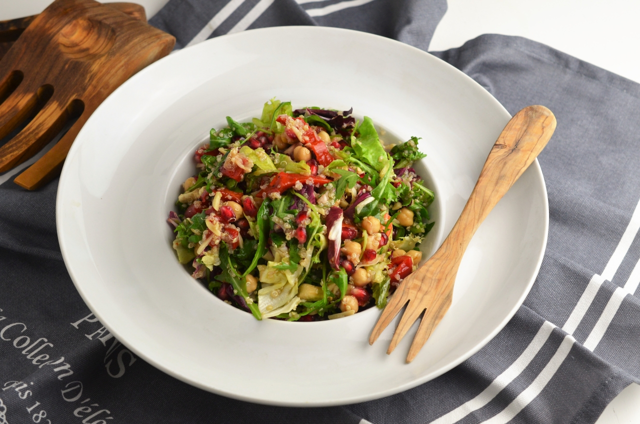 salata vegetariana