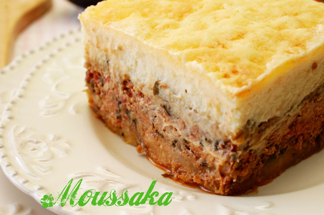 Moussaka de vinete