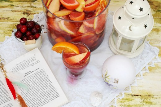 Sangria cu fructe