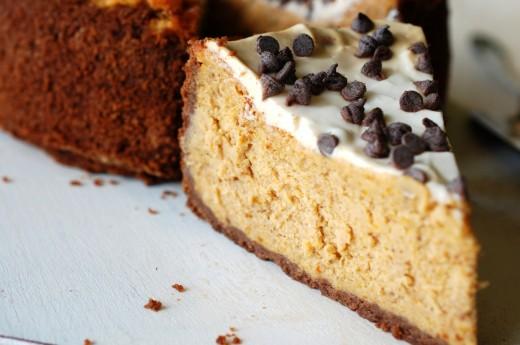 Cheesecake cu dovleac copt