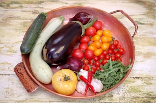 Ingrediente pentru legume cu ton