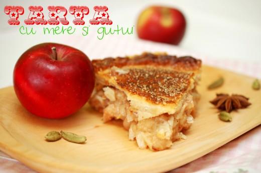 Tarta cu mere si gutui