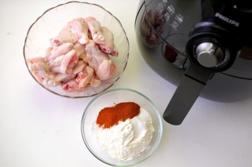 Ingrediente aripioare crocante