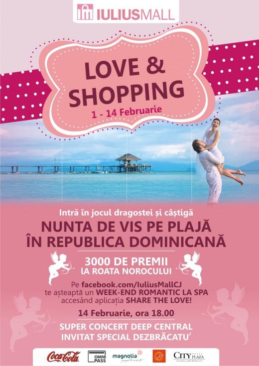 Valetines's Day la Iulius Mall