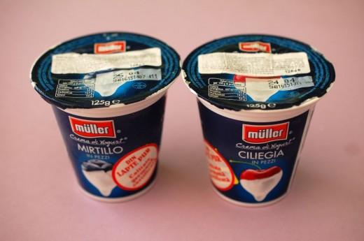 Crema de iaurt de la Muller