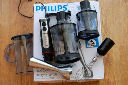 Blender de mana Philips HR1372