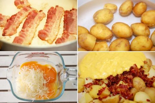 preparare-cartofi-noi-cu-sos-carbonara