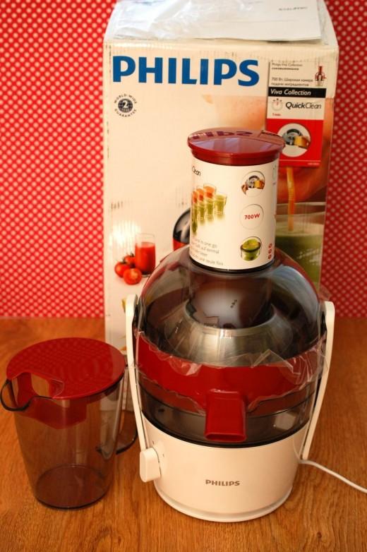 Storcator de fructe Philips HR1871