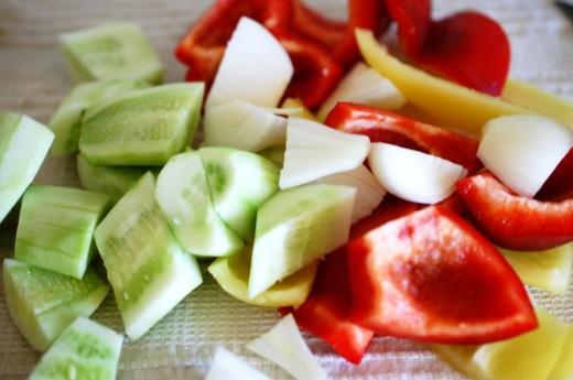 gazpacho supa rece de legume