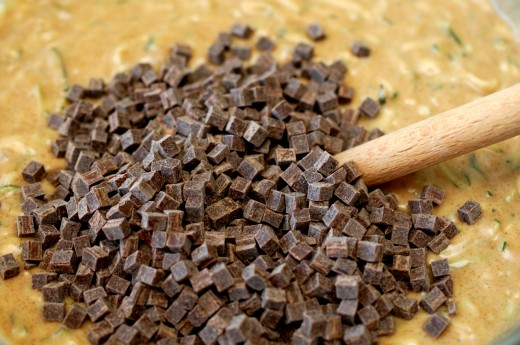 chec cu dovlecei si ciocolata