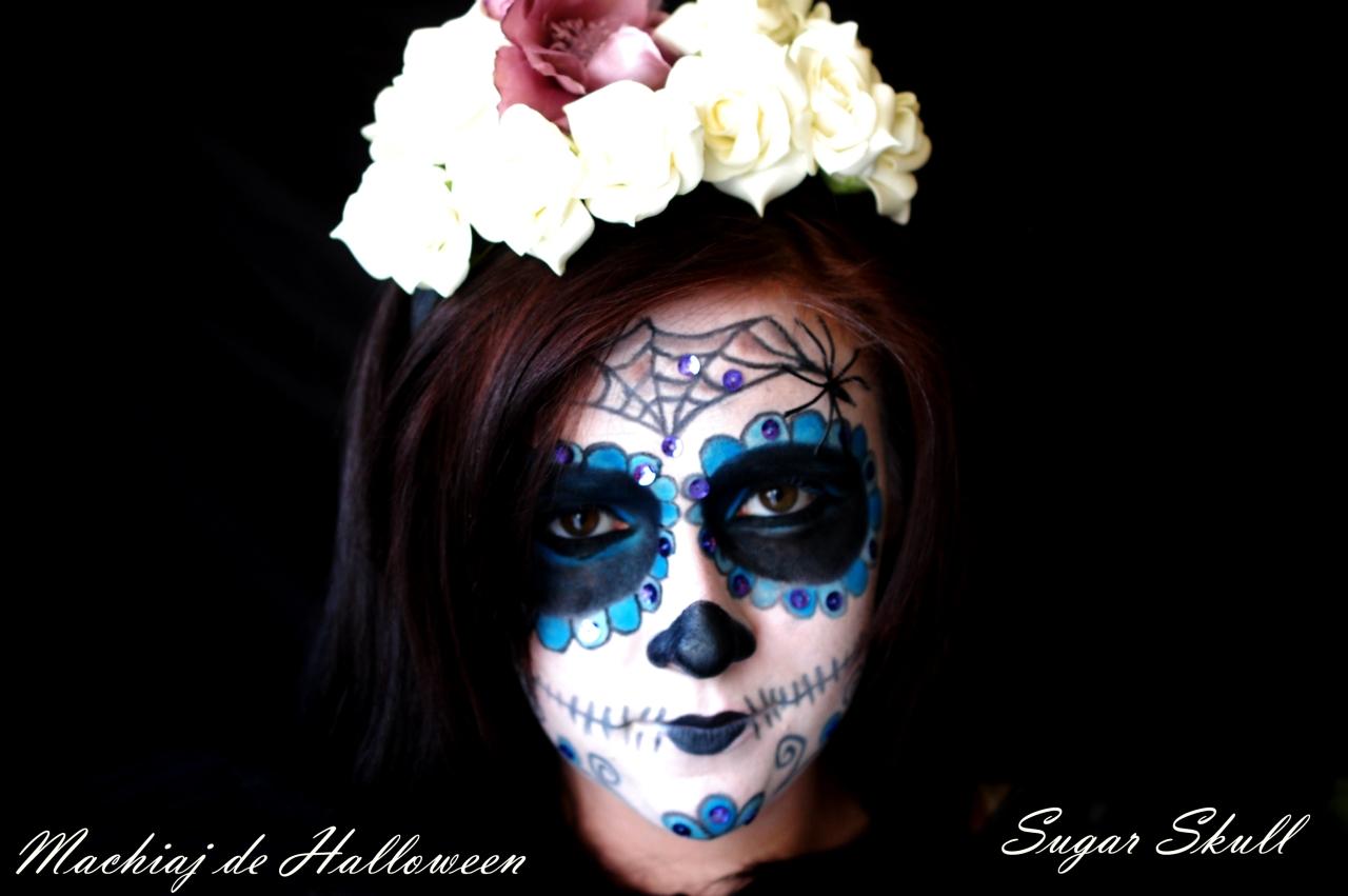 Tutorial Machiaj De Halloween Sugar Skull Makeup Retete Culinare