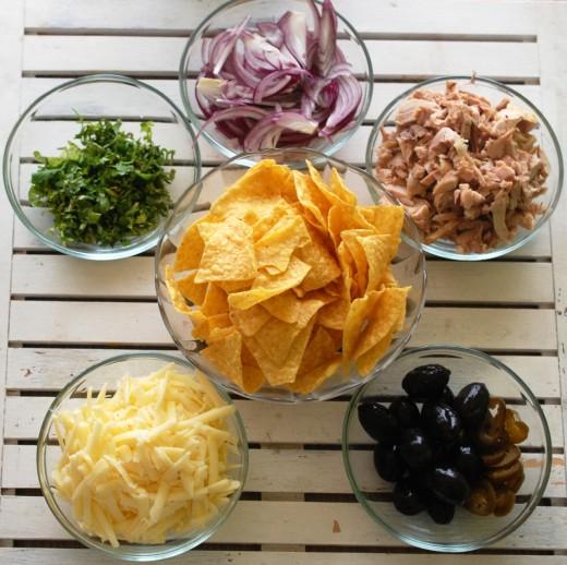 nachos la cuptor