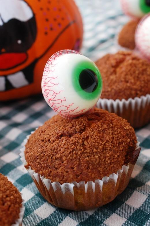 muffins cu dovleac pentru halloween