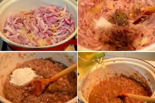 Preparare supa frantuzeasca de ceapa