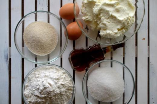 Ingrediente pentru papanasi dietetici