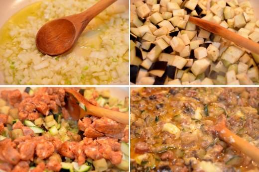 Preparare: Clatite sarate umplute cu vinete