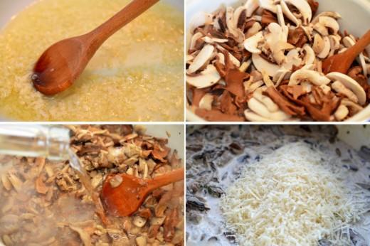 Preparare Tocanita de ciuperci