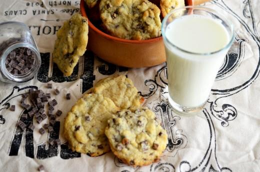 biscuiti cu lapte condensat si ciocolata