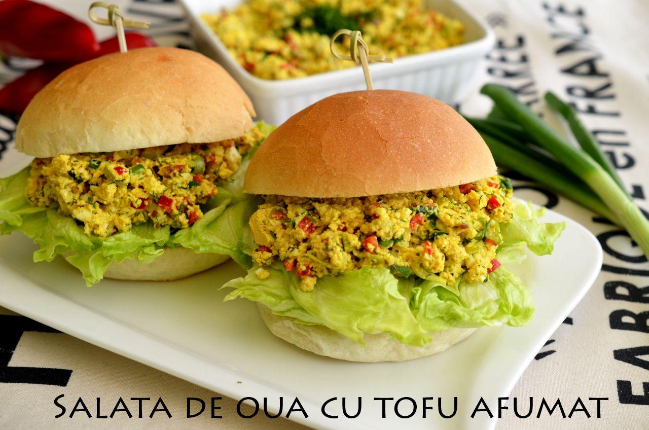 Salata de oua cu tofu afumat