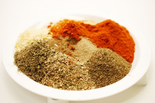 Ingrediente pentru mix de condimente