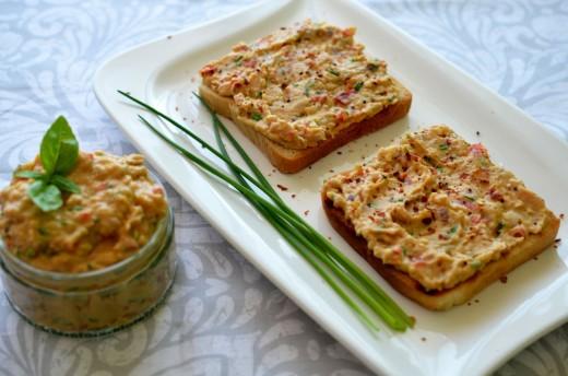 Pasta de fasole cu pate si sos de soia