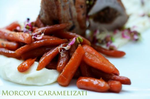 piure de pastranac si morcovi carmelizati