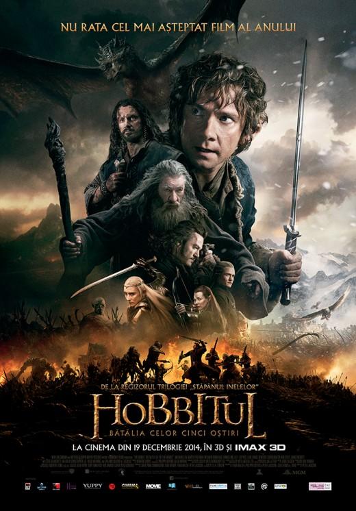 afis hobbitul 3