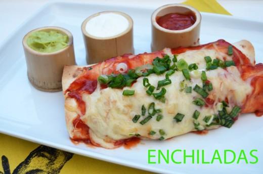 enchiladas de pui