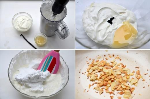 spuma de iaurt cu miere
