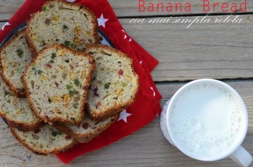banana bread chec cu banane