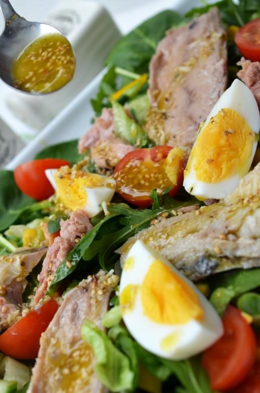 salata macrou hering ton
