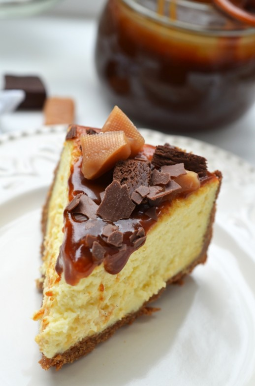toffee cheesecake